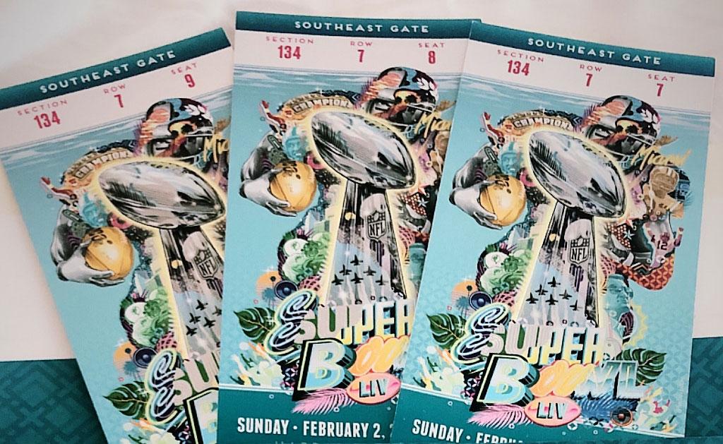 Vanha Super Bowl -lehti.